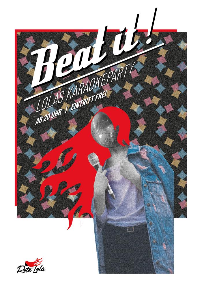 Beat it! - Lolas Karaoke-Party