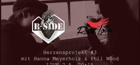 Livestream Konzert mit Hanna Meyerholz & Phil Wood