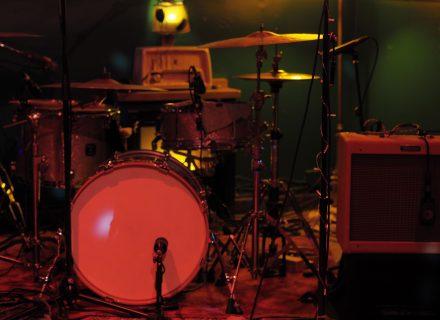Teezimmer Setup Drumset