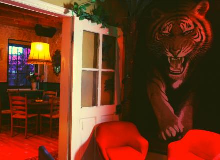 Dschungelzimmer - Jagdzimmer