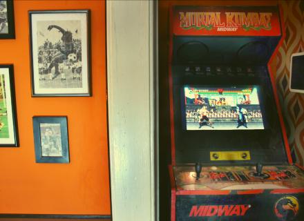 70er Jahre Zimmer - Mortal Kombat